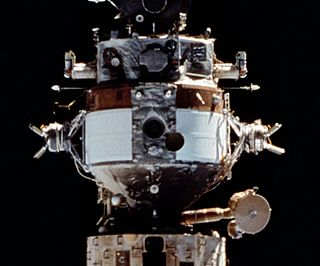 A Mir space station module