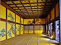 Kyoto Nijo-jo Ninomaru-goten-Palast Innen Raumgesamtansicht.jpg