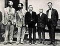 Kyouji Suehiro in ASCE (center) 1931.jpg