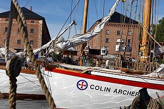 Colin Archer - RS 1 COLIN ARCHER, still sailing, here in 1914.