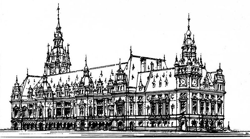 Bestand:L.M. Cordonnier Design for a Stock Exchange 1885.jpg