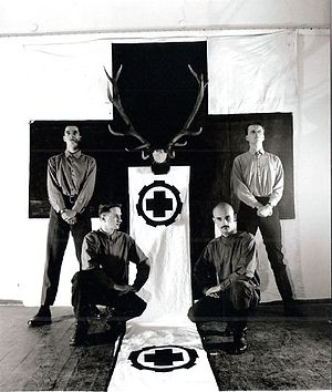 Laibach (band) - LAIBACH Press Photo 1983