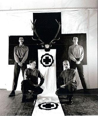 Laibach (band) - LAIBACH Press Photo 1983