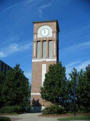 Louisiana Tech University - The Centennial Plaza Clock Tower