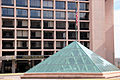 LEfant Plaza - glass pyramid - Hotel - Washington DC.JPG