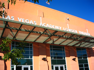 Las Vegas Academy - The Las Vegas Academy Lowden Theatre for the Performing Arts after the 2007-2008 renovation