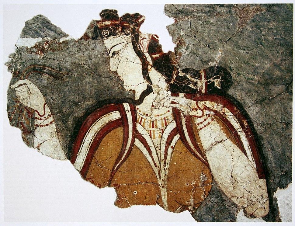 La Dame de Mycènes, fresco