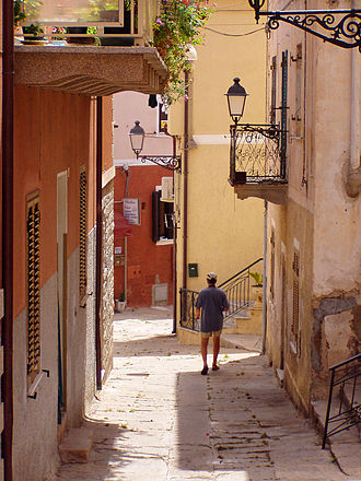 La Maddalena - The Old Town.