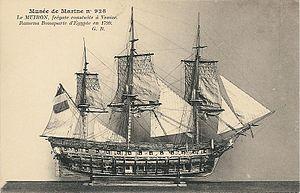 HMS Carrere (1801) - Image: La Muiron 928 GB