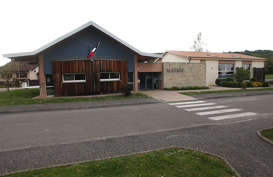 Mairie de La Vèze (Doubs).