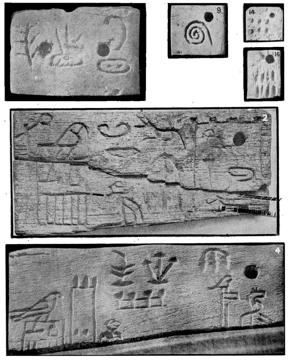 Labels from the tomb of Menes