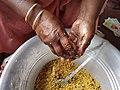 Laddu preparation.jpg