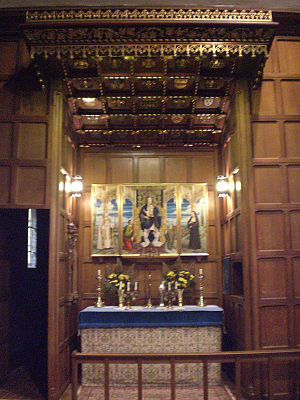 St. Thomas's Anglican Church (Toronto) - Image: Lady Chapel in St Thomas Anglican Church of Canada, Toronto