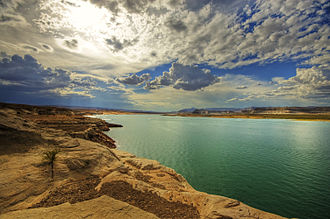 Lake Powell - Image: Lake Powell (2217173388)
