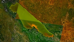 Lake Rukwa - Lake Rukwa, as seen from space.