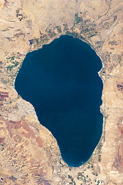 Lake Tiberias (Sea of Galilee), Northern Israel