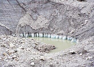 Satopanth Tal - A Glacial lake en route