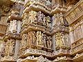 Lakshmana Temple Western Group of Temples Khajuraho India - panoramio (8).jpg