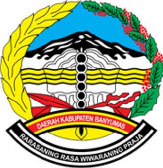 Banyumas Regency - Image: Lambang Kabupaten Banyumas low res