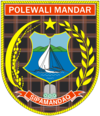 Official seal of Polewali Mandar Regency
