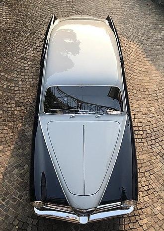 Franco Scaglione - Image: Lancia Aurelia B53 Balbo, Franco Scaglione design