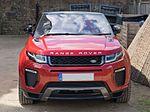 Land Rover Range Rover Evoque Convertible 2016 - front.jpg