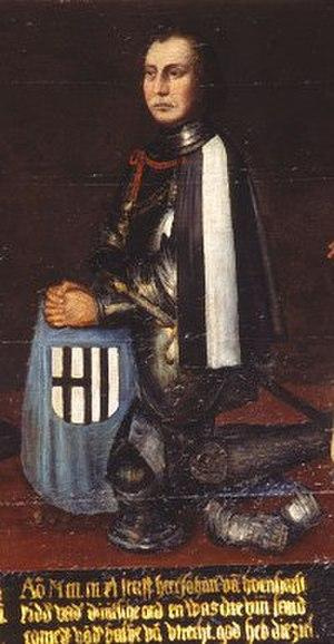 Bailiwick of Utrecht - Johan van Hoenhorst, land commander 1325–40
