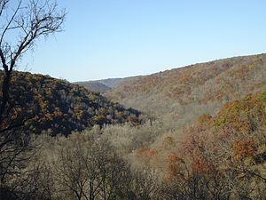 Beaver Creek Valley State Park - Beaver Creek Valley in late autumn