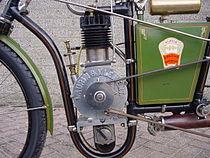 Laurin & Klement 400 cc motorblok