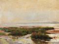 Laurits Tuxen - Solskin ved en lavvandet kyst - 1911.png