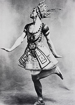 Nijinsky as The Blue God