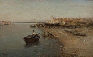 Adolphe Appian - Image: Le Soir aux Martigues (Appian)