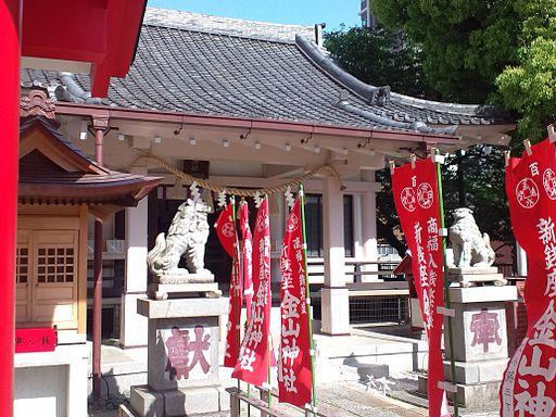 Le Temple Shintô Yoshida-Ten'man-gû - Le haiden (La construction du culte)2