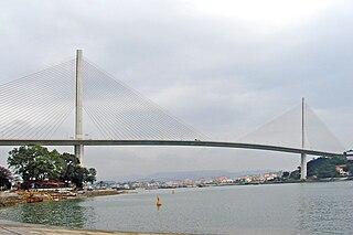 Bãi Cháy Bridge bridge in Vietnam