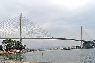 Bãi Cháy Bridge - Bai Chay Bridge's main span