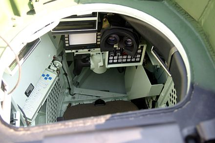 The tank commander's position in an AMX Leclerc Leclerc-IMG 1717.jpg