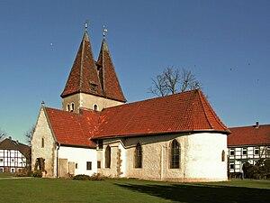 Holy Cross Church, Lehre - Image: Lehre Kirche