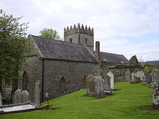 St Laserians Cathedral, Old Leighlin Church in Co Carlow, Ireland