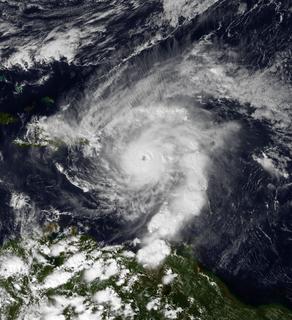 Category 4 Atlantic hurricane in 1999