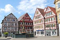 Marktplatz in Leonberg