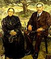 Leonor Gozálvez y José Borda (1943).jpg