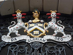 Worshipful Company of Dyers - Image: Leopards Rampant (19191297559)