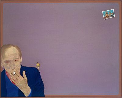 """Ewa Kuryluk, """"Between 5 and 50"""", a portrait of Leszek Kołakowski on his 50th birthday, 1978"""