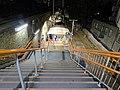 Leytonstone High Road railway station platform entrance steps 01.jpg