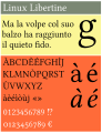 Libertine sample-IT4v.svg