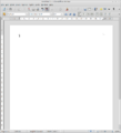 LibreOffice Writer 3.3 blank page.png