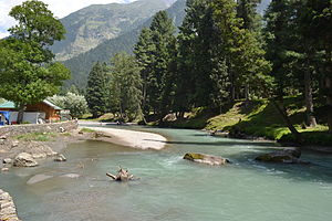 Betaab Valley - Lidder river at Betaab Valley