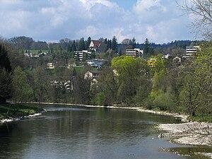 Oberengstringen - Image: Limmat Oberengstringen IMG 5868