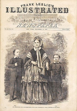 Frank Leslie's Illustrated Newspaper - Image: Lincoln Family Leslie's Weekly 1860