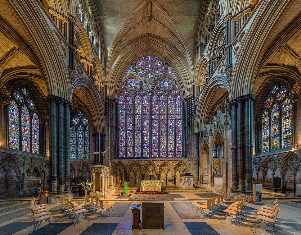 Lincoln Cathedral Presbytery, Lincolnshire, UK - Diliff